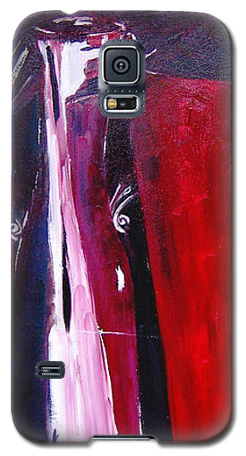 Figurative Galaxy S5 Case featuring the painting Almost Still Life by Olga Alexeeva