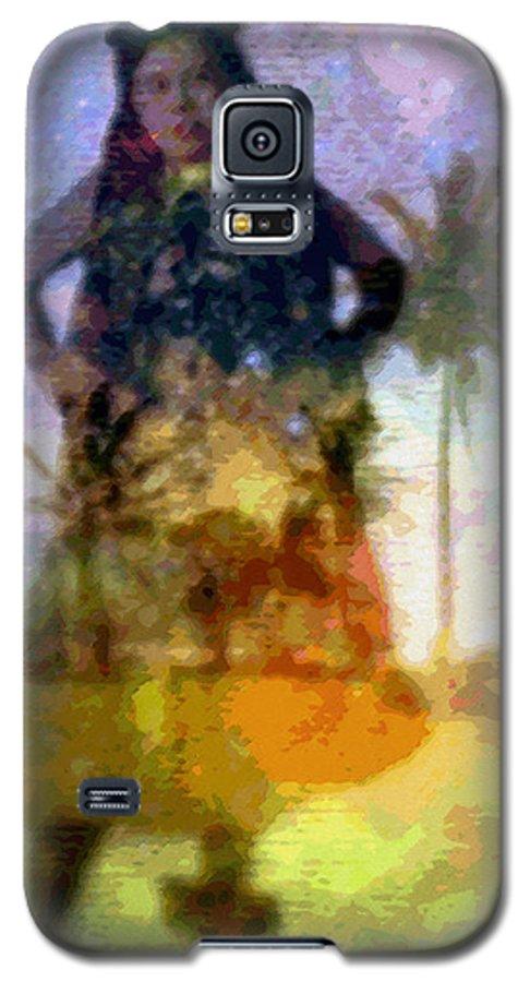 Tropical Interior Design Galaxy S5 Case featuring the photograph Aluna Ahiahi Hula by Kenneth Grzesik