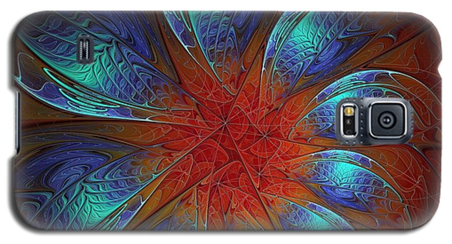 Digital Art Galaxy S5 Case featuring the digital art Always And Forever by Amanda Moore