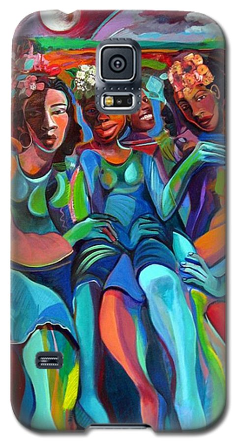 Women Galaxy S5 Case featuring the painting Always by Joyce Owens