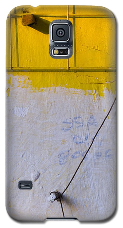 Abstract Galaxy S5 Case featuring the photograph Amarillo by Skip Hunt