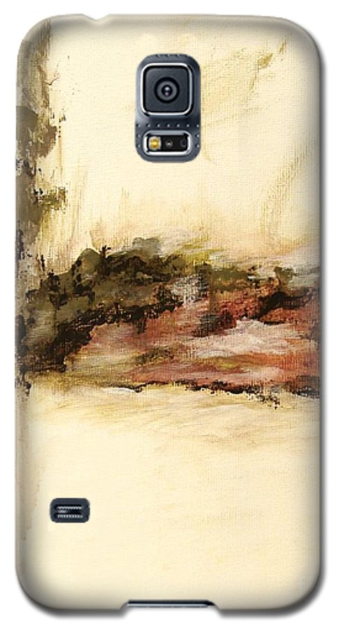 Abstract Galaxy S5 Case featuring the painting Ambiguous by Itaya Lightbourne