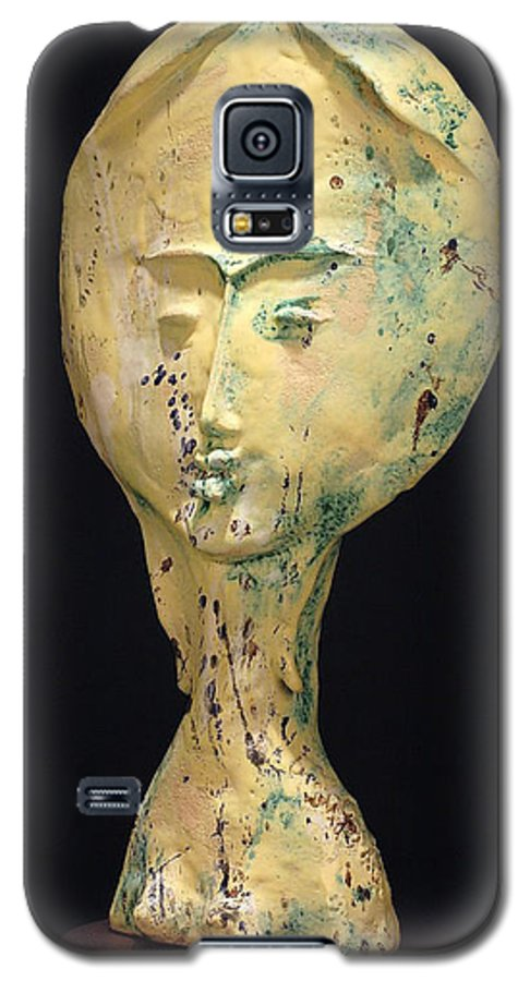 Galaxy S5 Case featuring the sculpture Ambrosia by Gian Genta
