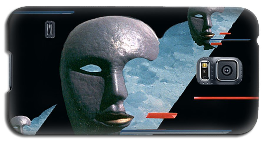 Surreal Galaxy S5 Case featuring the digital art An Androids Dream by Steve Karol