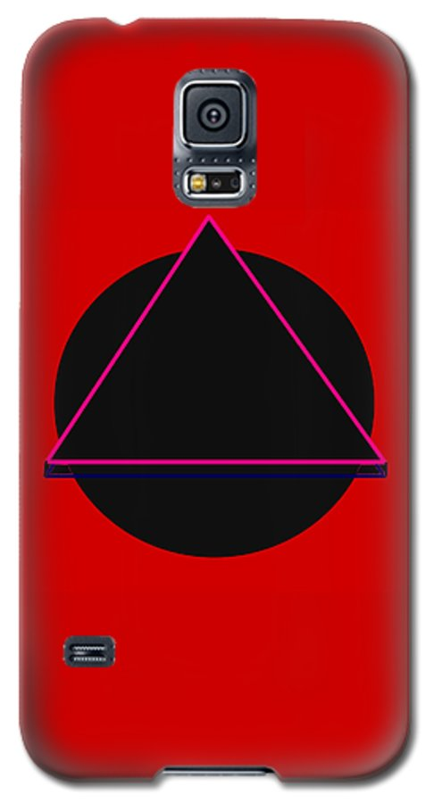 Social Justice Art Galaxy S5 Case featuring the digital art And It Flowed by Pharris Art
