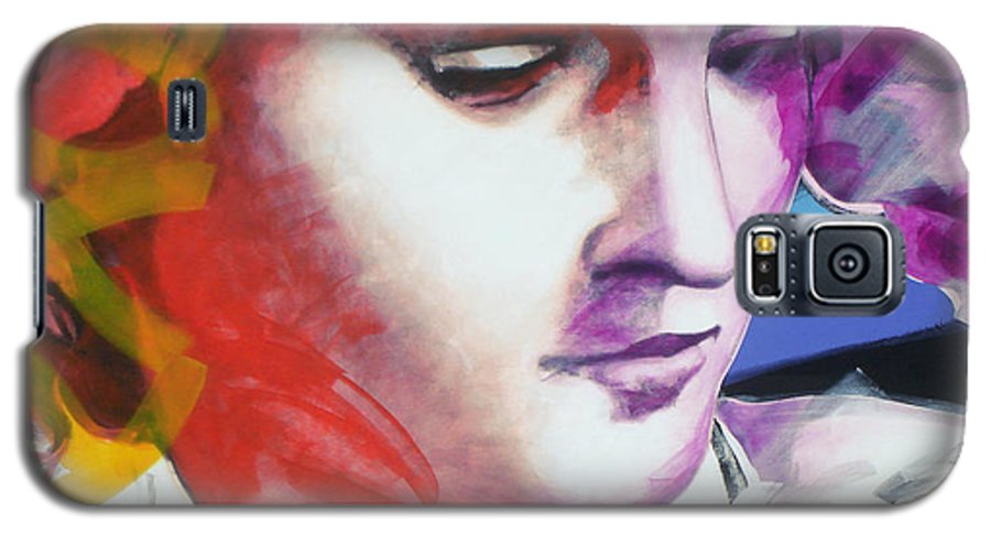 Pop Galaxy S5 Case featuring the painting Angel by Jean Pierre Rousselet