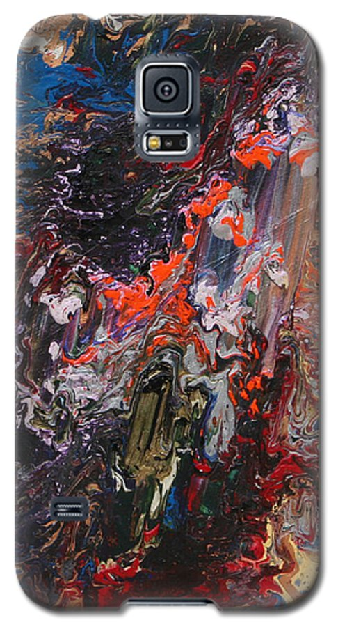 Fusionart Galaxy S5 Case featuring the painting Angel Rising by Ralph White