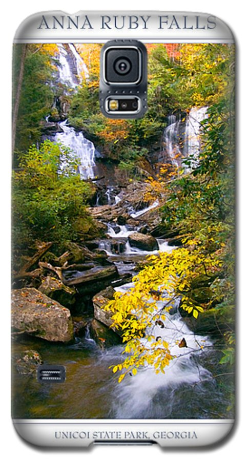 Landscape Galaxy S5 Case featuring the photograph Anna Ruby Falls by Peter Muzyka