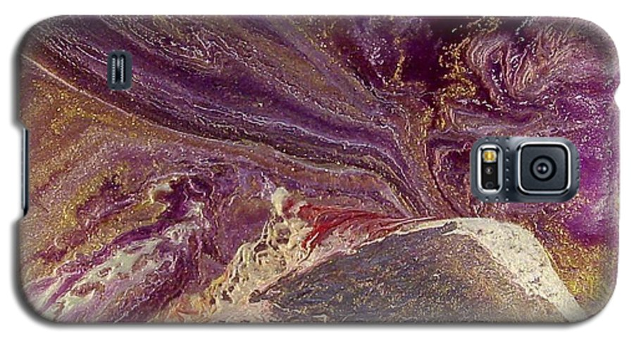 Abstract Galaxy S5 Case featuring the painting Appassionata by Patrick Mock
