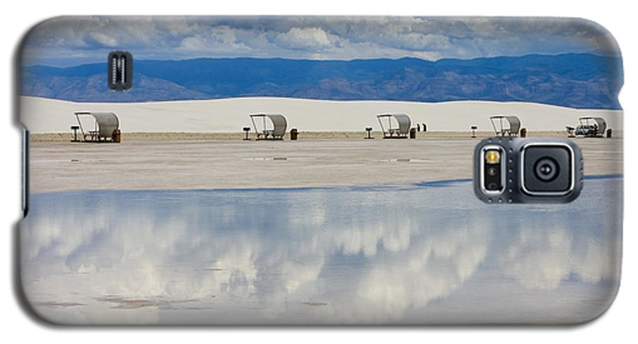 New Mexico Galaxy S5 Case featuring the photograph Armageddon Picnic by Skip Hunt