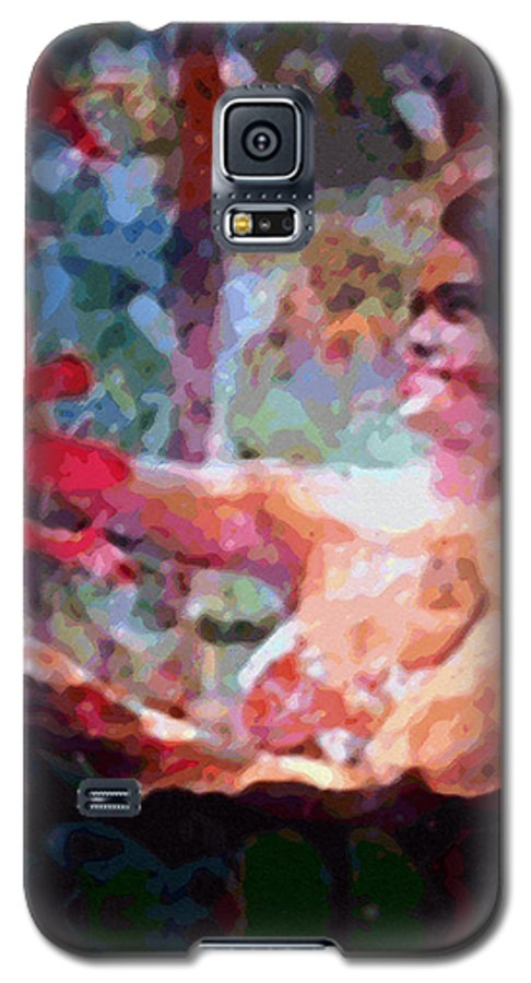 Rainbow Colors Digital Galaxy S5 Case featuring the photograph As If by Kenneth Grzesik