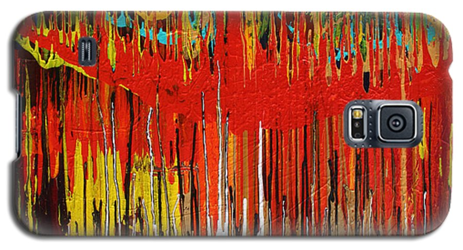 Fusionart Galaxy S5 Case featuring the painting Ascension by Ralph White