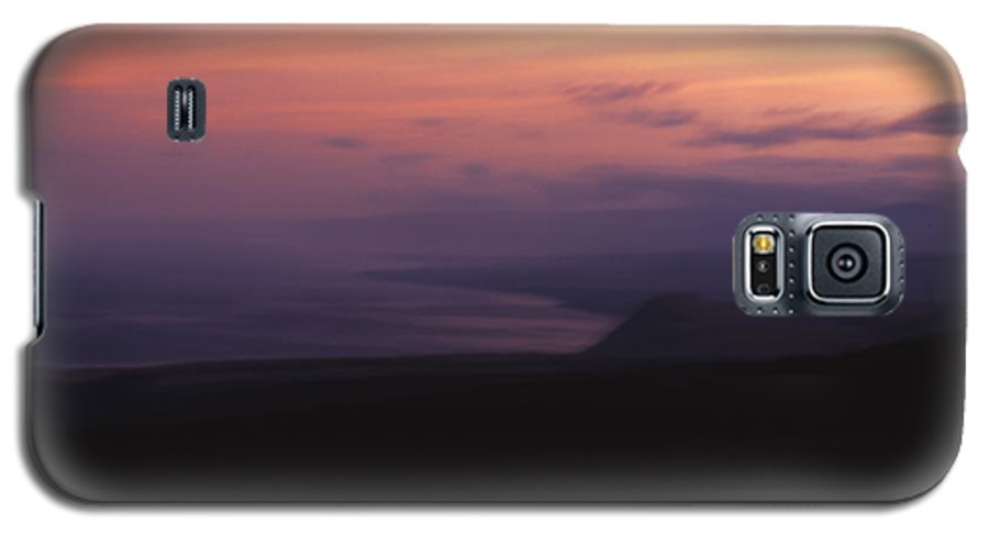 Sunset Galaxy S5 Case featuring the photograph At Sundown by Ayesha Lakes