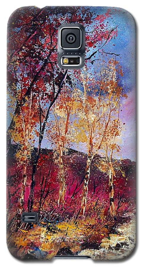 Landscape Galaxy S5 Case featuring the painting Autumn 760808 by Pol Ledent