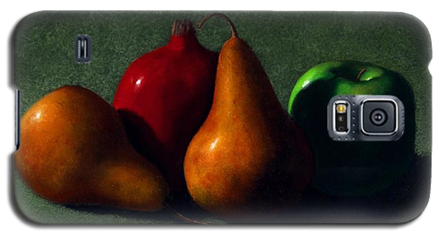 Still Life Galaxy S5 Case featuring the painting Autumn Fruit by Frank Wilson