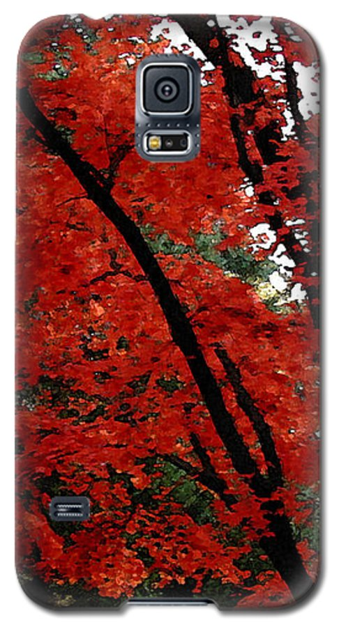Autumn Galaxy S5 Case featuring the photograph Autumn In New England by Melissa A Benson