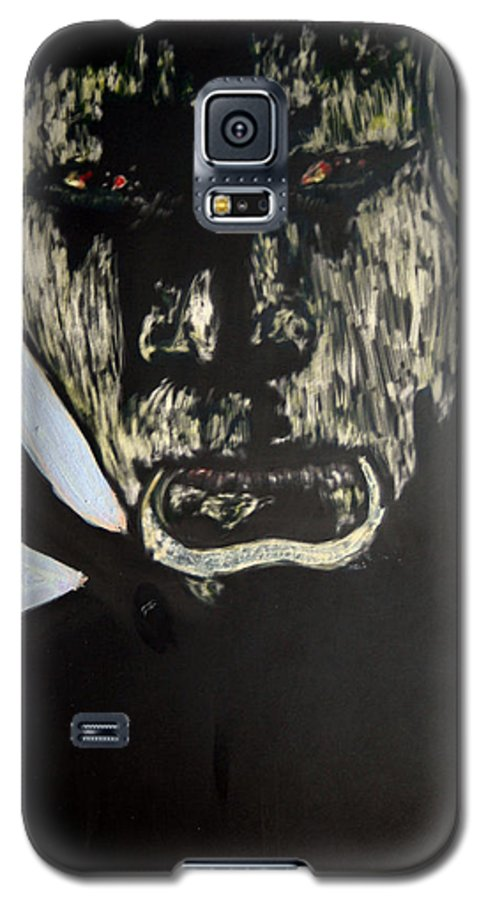 Galaxy S5 Case featuring the mixed media Avenging Angel by Chester Elmore
