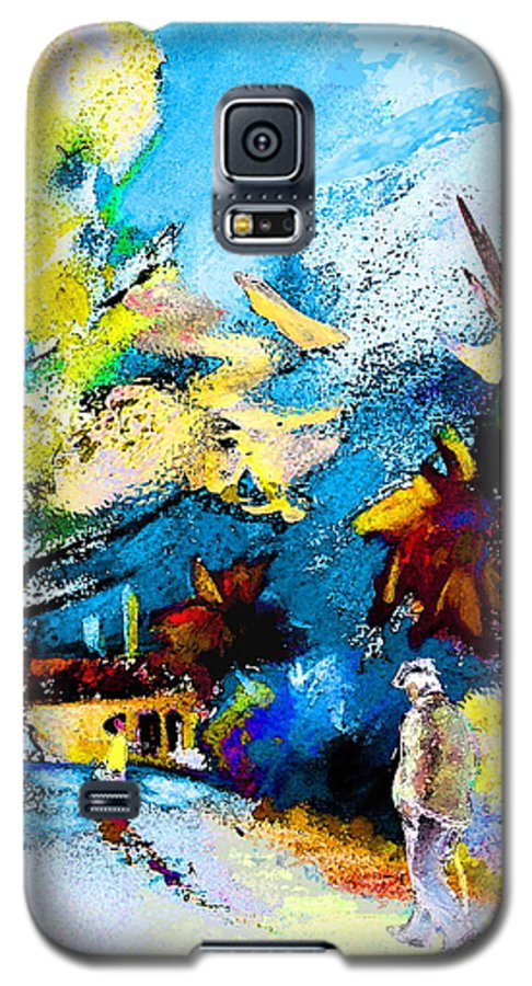 Pastel Painting Galaxy S5 Case featuring the painting Back Home by Miki De Goodaboom
