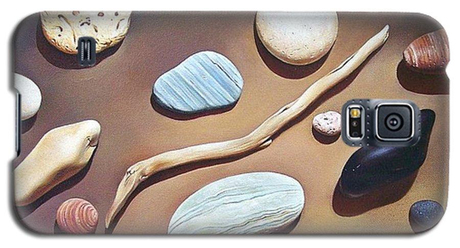 Still Life Galaxy S5 Case featuring the painting Balance by Elena Kolotusha