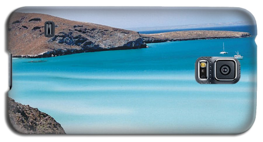 Blue Galaxy S5 Case featuring the photograph Balandra Bay by Kathy Schumann