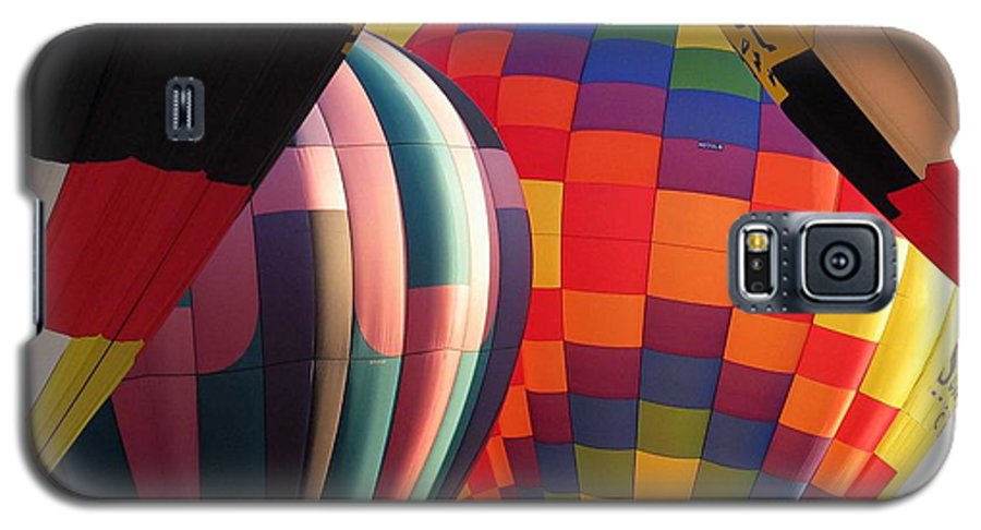 Hot Air Balloons Galaxy S5 Case featuring the photograph Balloons by Margaret Fortunato