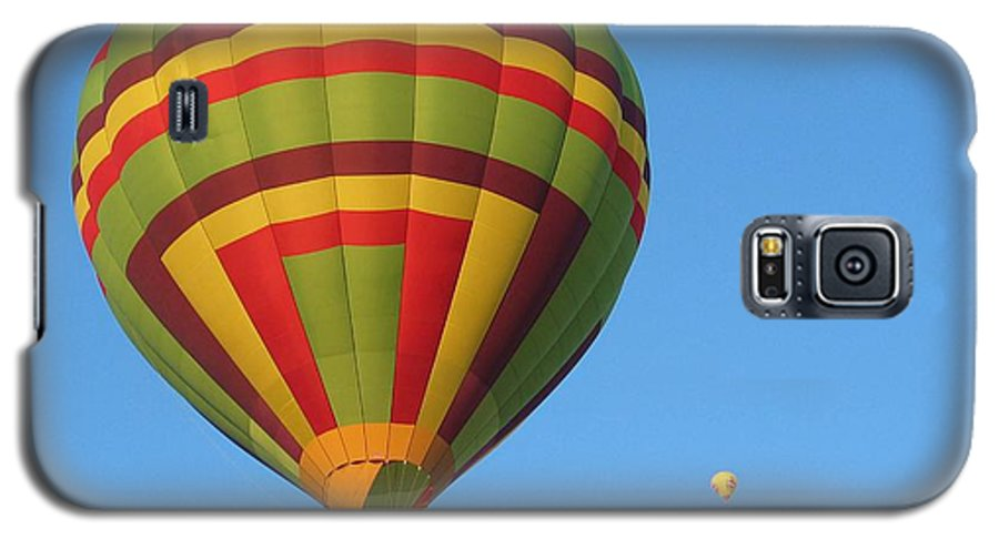 Hot Air Balloons Galaxy S5 Case featuring the photograph Balloons New Mexico by Margaret Fortunato