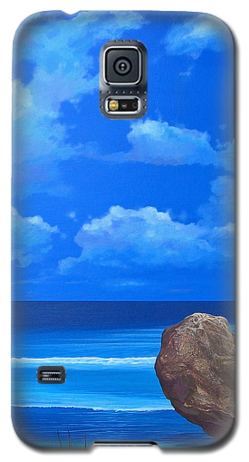 Barbados Galaxy S5 Case featuring the painting Bathsheba by Hunter Jay