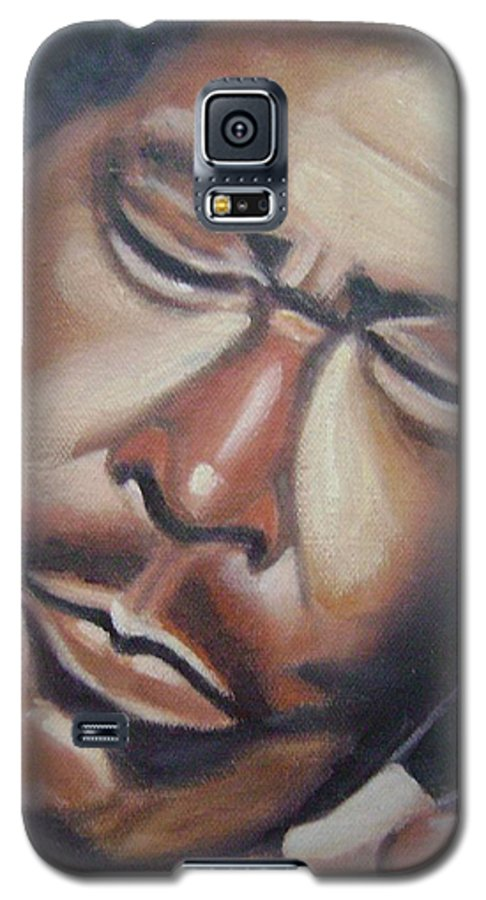 B.b. King Galaxy S5 Case featuring the painting B.b. King by Toni Berry