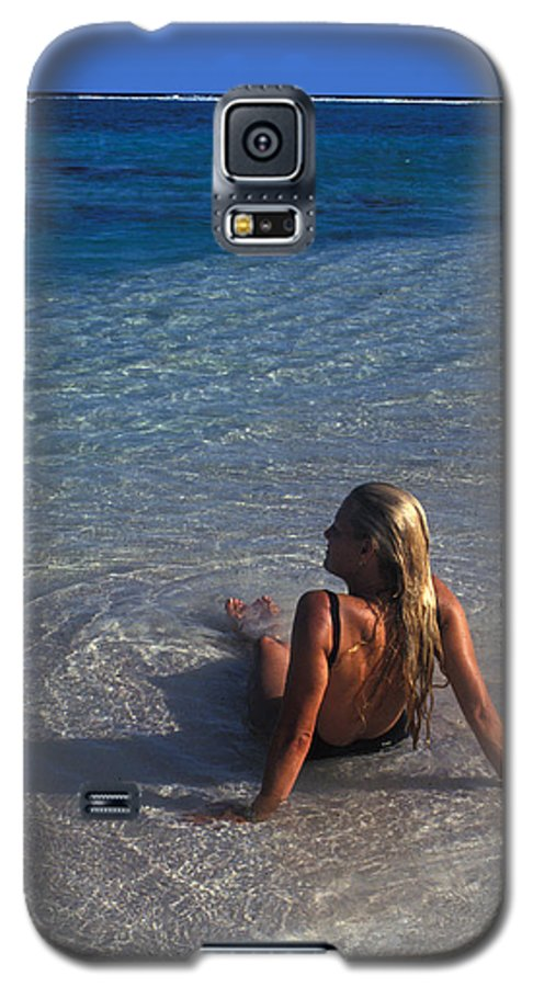 Beautiful Galaxy S5 Case featuring the photograph Beach At Little Cayman by Carl Purcell