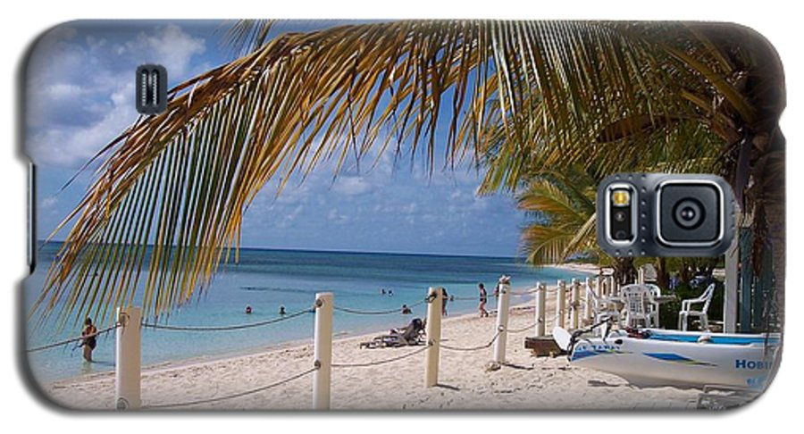 Beach Galaxy S5 Case featuring the photograph Beach Grand Turk by Debbi Granruth