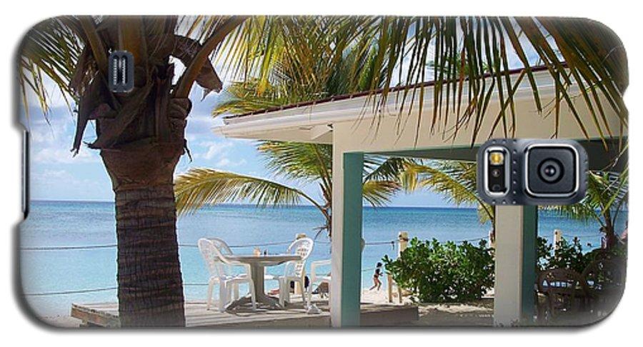 Beach Galaxy S5 Case featuring the photograph Beach In Grand Turk by Debbi Granruth