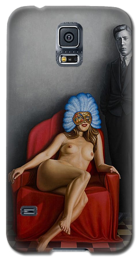 Nude Galaxy S5 Case featuring the painting Beauty Of The Carnival by Horacio Cardozo