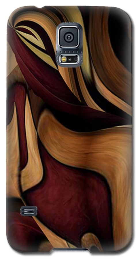 Beauty Queen Galaxy S5 Case featuring the painting Beauty Queen by Jill English