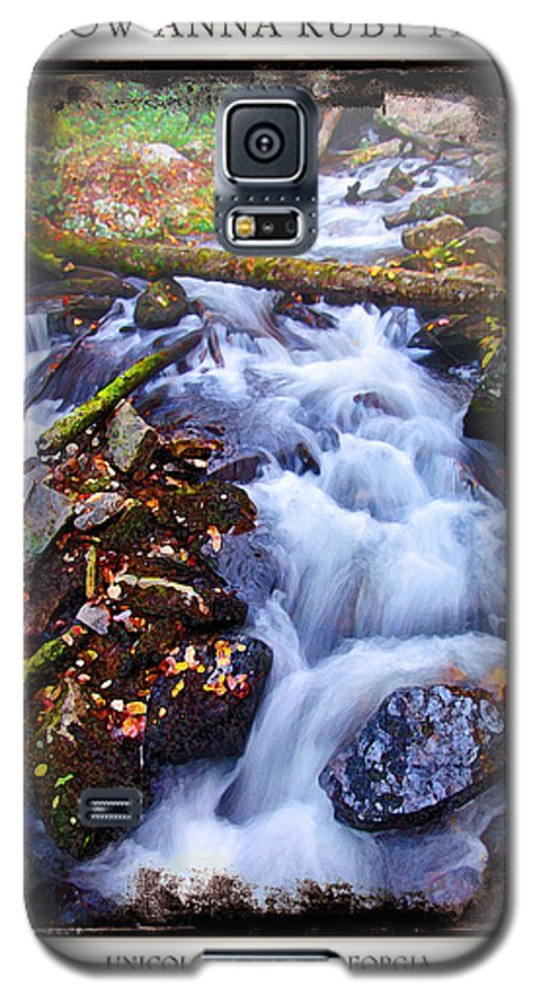Landscape Galaxy S5 Case featuring the photograph Below Anna Ruby Falls by Peter Muzyka