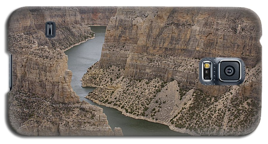 Canyon Galaxy S5 Case featuring the photograph Bighorn Canyon by Idaho Scenic Images Linda Lantzy