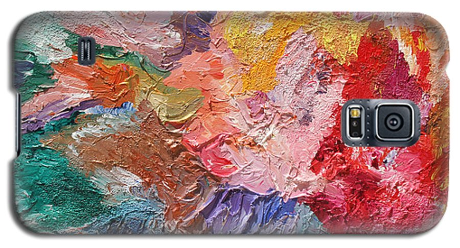 Fusionart Galaxy S5 Case featuring the painting Birth Of Passion by Ralph White