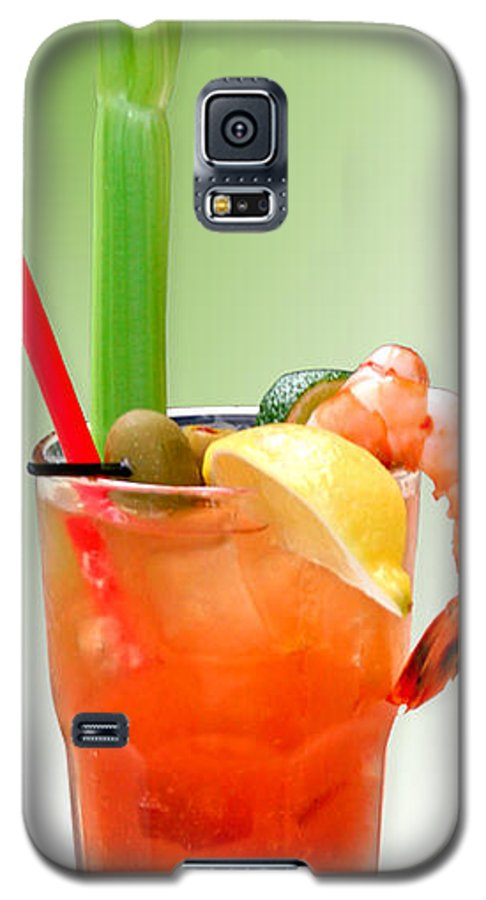 Drinks Galaxy S5 Case featuring the photograph Bloody Mary Hand-crafted by Christine Till