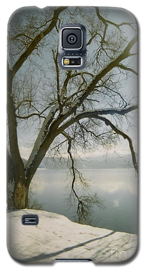 Blue Galaxy S5 Case featuring the photograph Blue Dream by Idaho Scenic Images Linda Lantzy