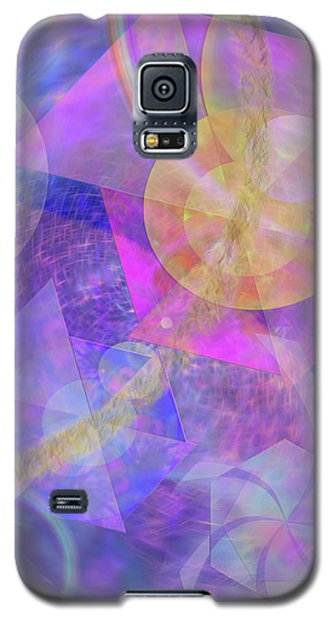 Blue Expectations Galaxy S5 Case featuring the digital art Blue Expectations by John Beck