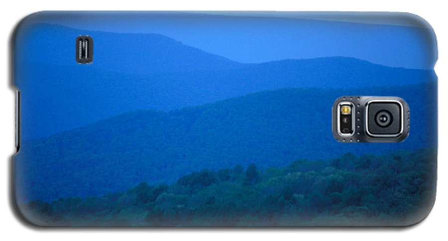 Mountains Galaxy S5 Case featuring the photograph Blue Ridge Mountains by Carl Purcell