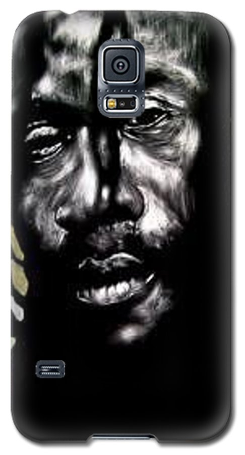 Portrait Galaxy S5 Case featuring the mixed media Bob Na I by Chester Elmore