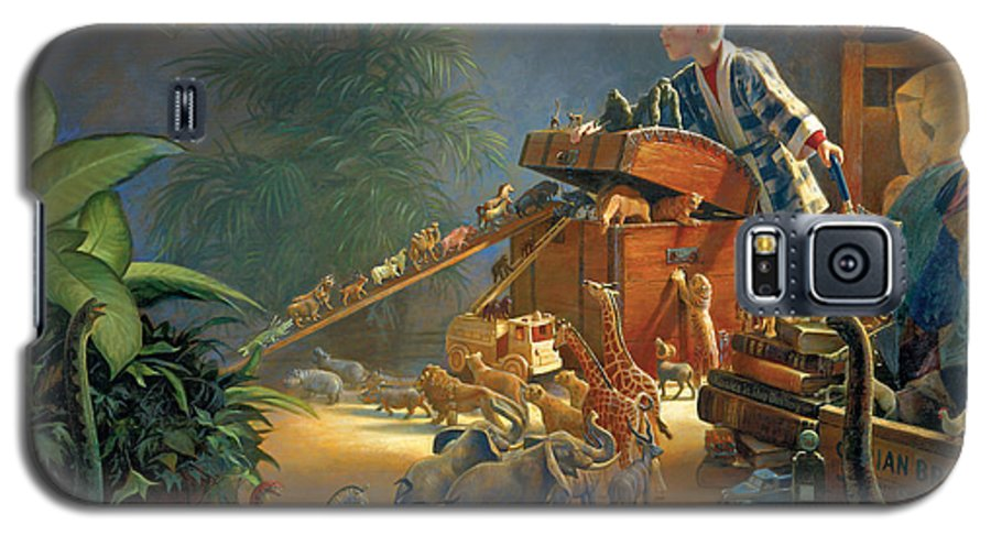 Noah's Ark Galaxy S5 Case featuring the painting Bon Voyage by Greg Olsen