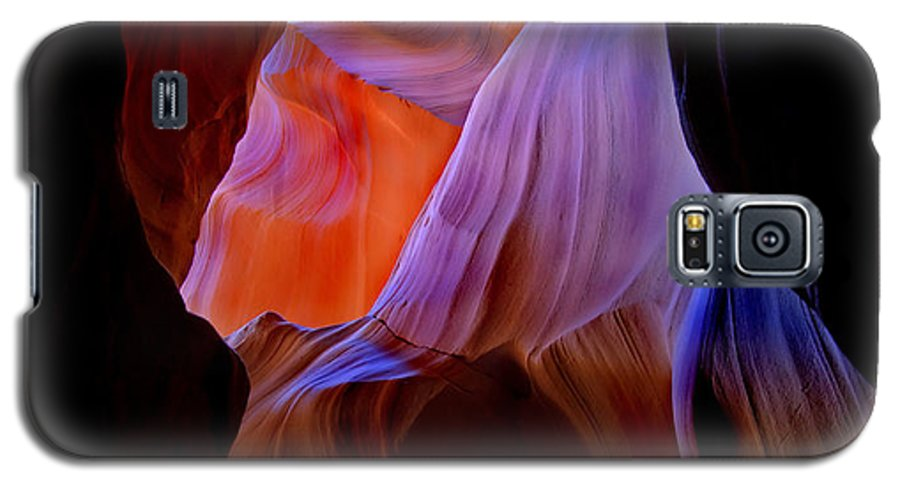 Canyon Galaxy S5 Case featuring the photograph Bottled Light by Mike Dawson