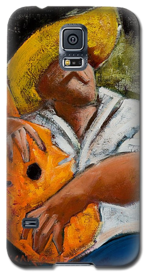 Puerto Rico Galaxy S5 Case featuring the painting Bravado Alla Prima by Oscar Ortiz