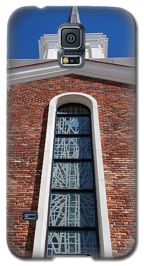 Architecture Galaxy S5 Case featuring the photograph Brick Church by Rob Hans