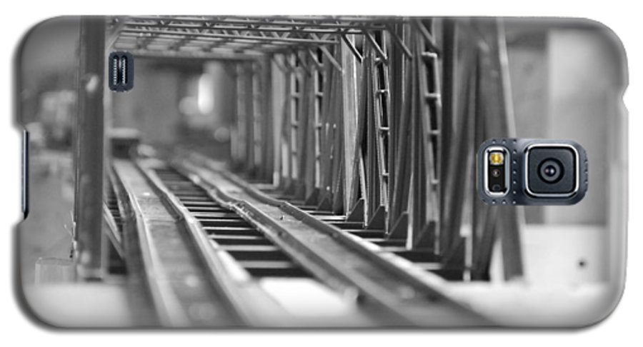 Models Galaxy S5 Case featuring the photograph Bridge To Jerry Town by Margaret Fortunato