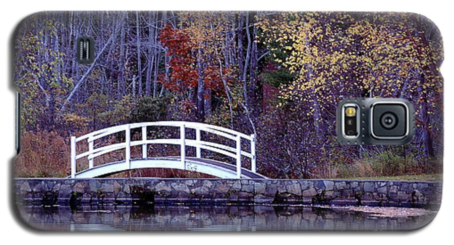 Bridge Galaxy S5 Case featuring the photograph Bridge To Serenity by Faith Harron Boudreau