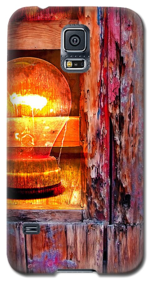Skip Galaxy S5 Case featuring the photograph Bright Idea by Skip Hunt