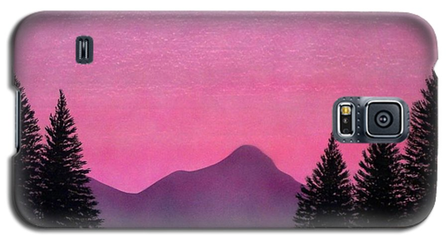 Landscape Galaxy S5 Case featuring the painting Brightness by Frank Wilson