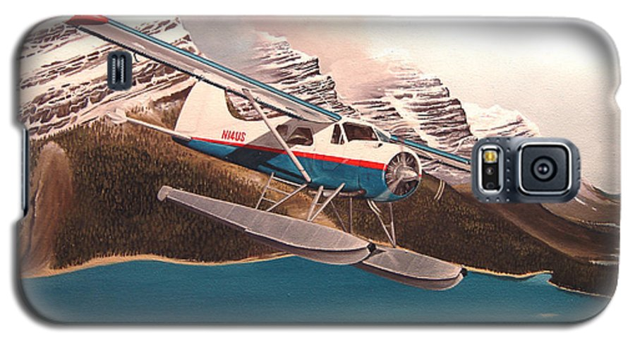 Aviation Galaxy S5 Case featuring the painting Bringing Home The Groceries by Marc Stewart
